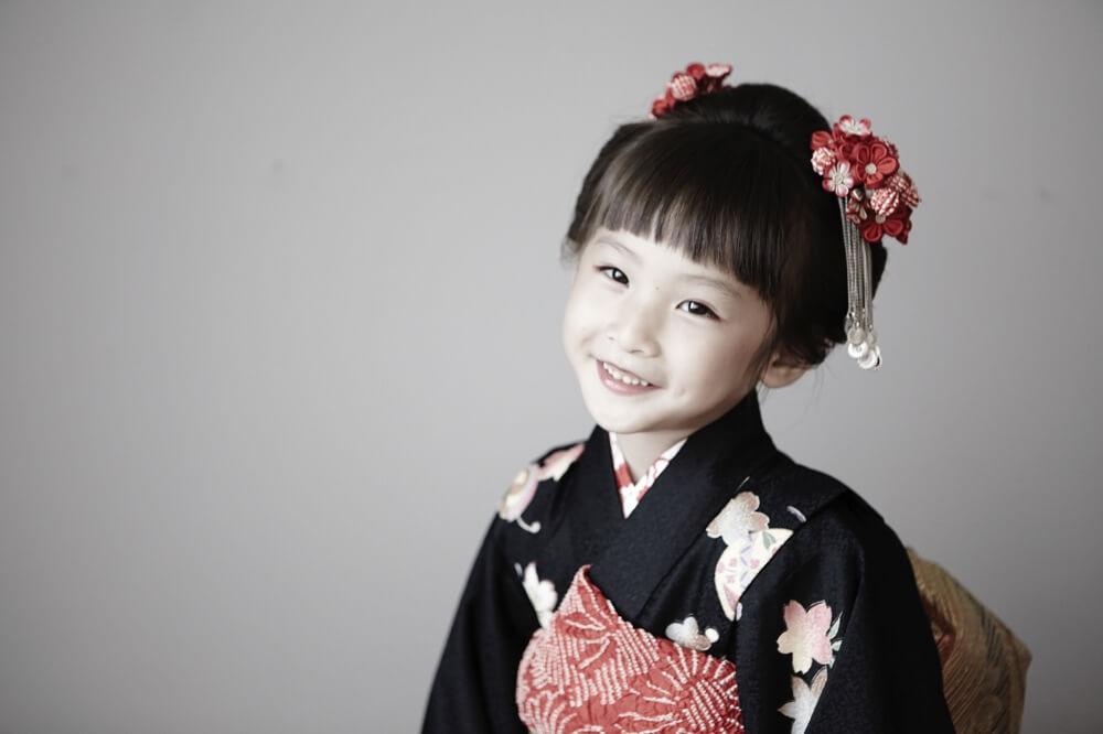 七五三 7歳女の子写真