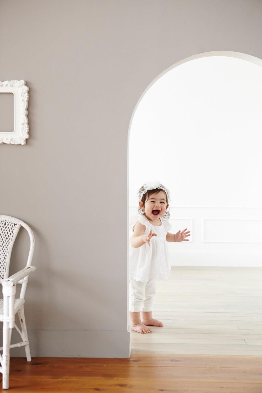 1歳記念子ども写真写真