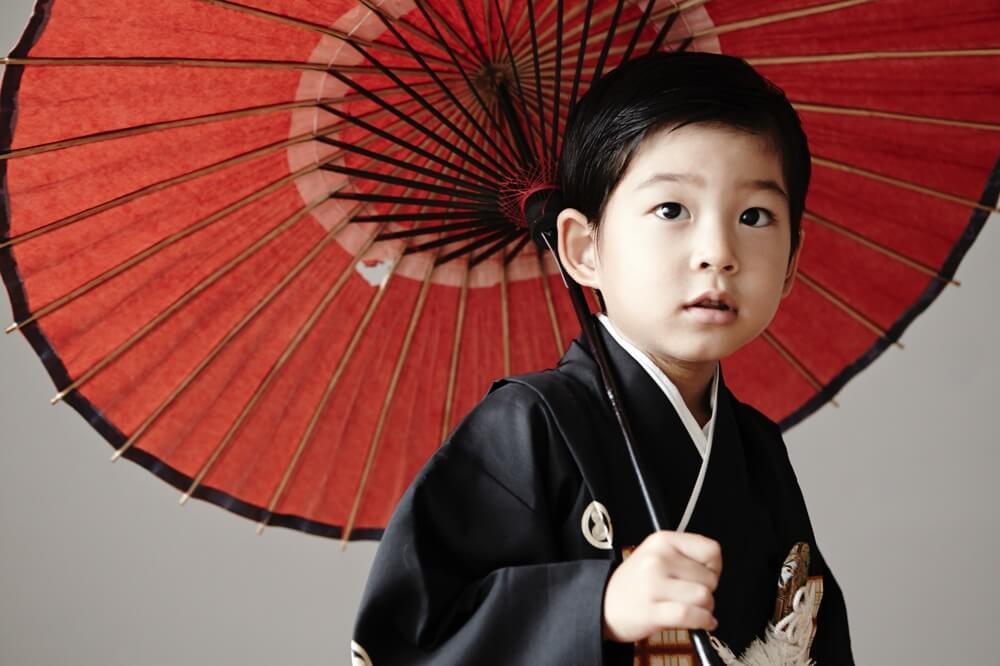 七五三 5歳男の子撮影写真