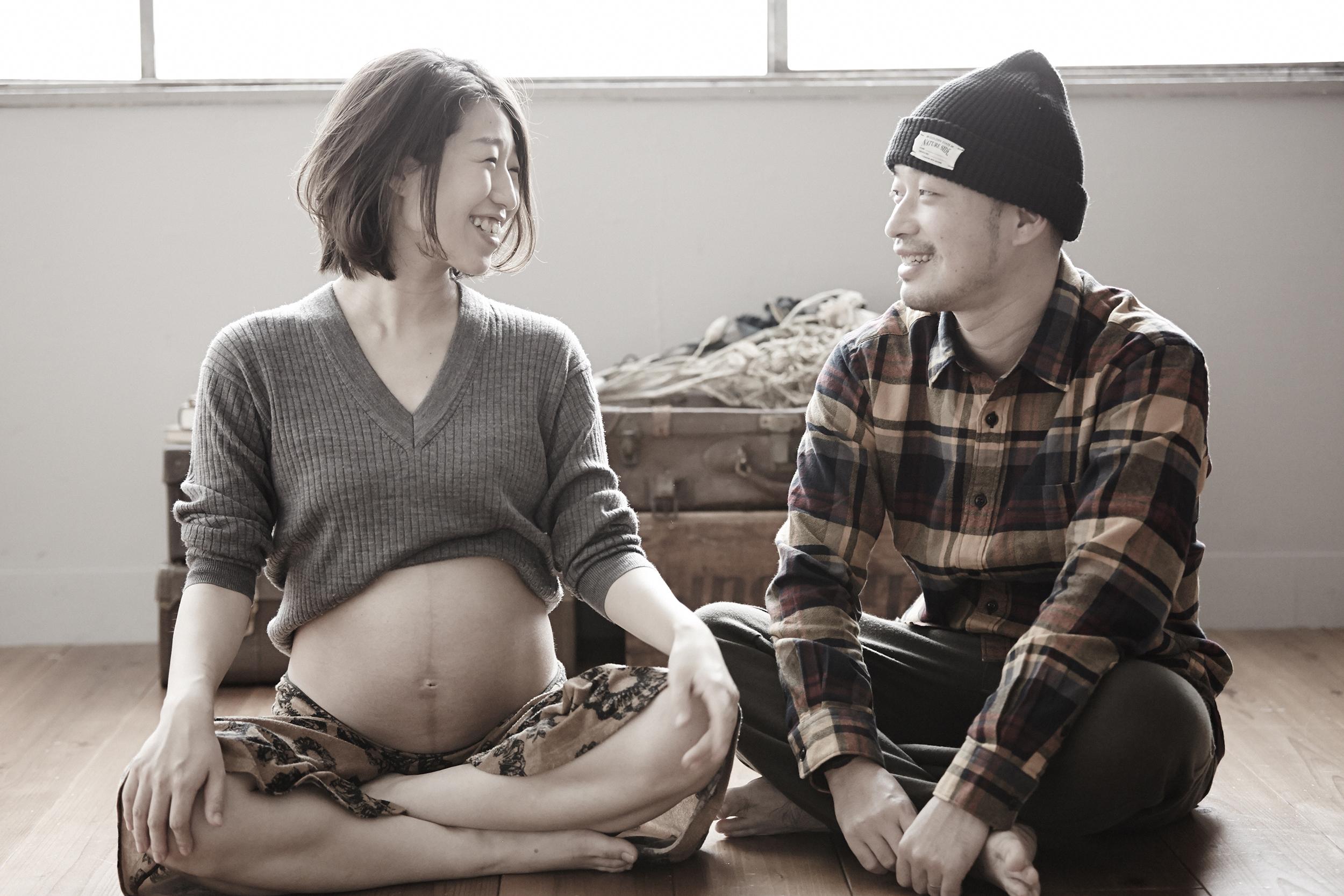 maternity写真